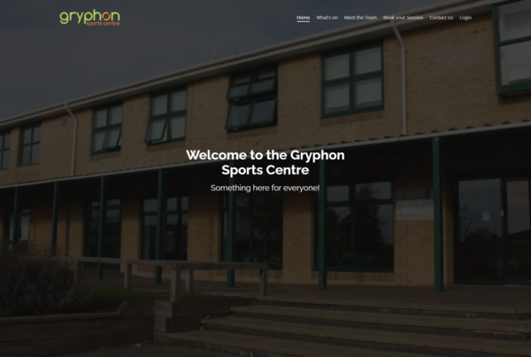 Gryphon Sports Centre Home Page