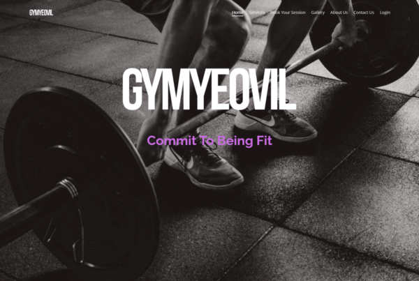 GymYeovil Home Page